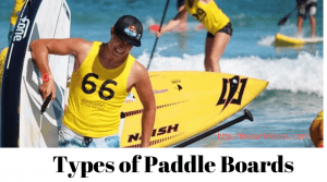 7 Types of Paddle Boards