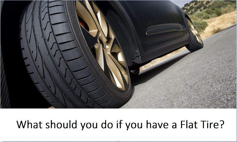 Have A Flat Tire